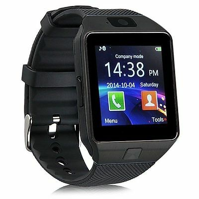 Dz09 Bluetooth Smart Watch Inteligente Polso Orologio Sim Slot Per Android Ios