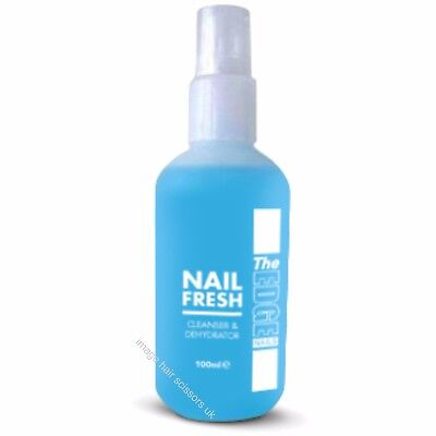 THE EDGE Nail Fresh 100ml Dehydrating & Cleanser Nail Spray Stop Nails Lifting