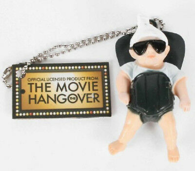 Comedy Movie The Hangover Baby Carlos in Carrier Wearing Sunglasses Keychain