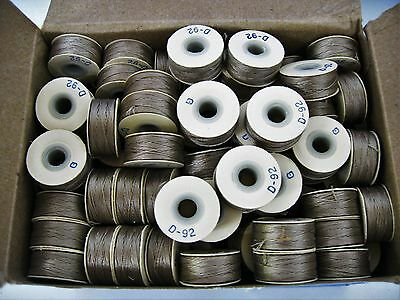 Quantity - 7 Gross Coats Ultra Dee Bobbins - Style G, Size: D - 92, Color - Be