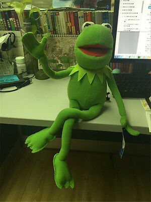 "Kermit Sesame Street Muppets Kermit the Frog Toy plush 18"" Gift New"