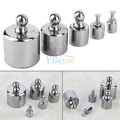 5Pcs/set 1g 2g 5g 10g 20g Precision Calibration Weight Test Weight Jewelry Scale