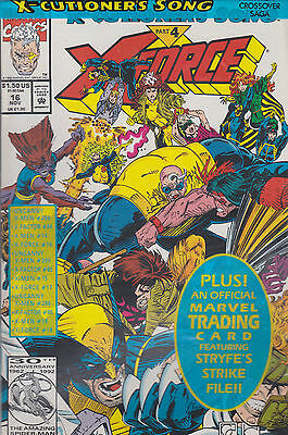 X-Force No. 16 US Trading Card