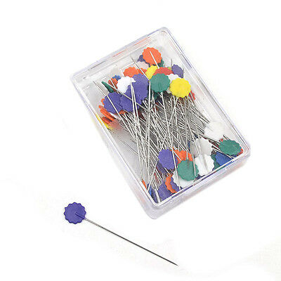 100pcs Patchwork Pins Button Head Pins DIY Quilting Tool Sewing Accessories