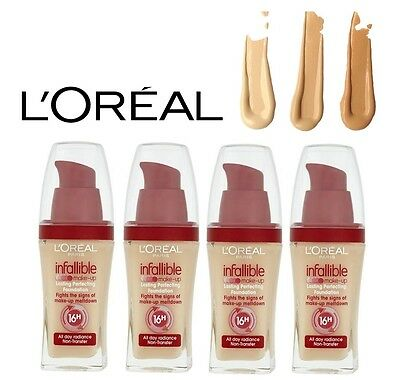 LOREAL INFALLIBLE MAKE UP LONG LASTING PERFECTING FOUNDATION Choose your shade