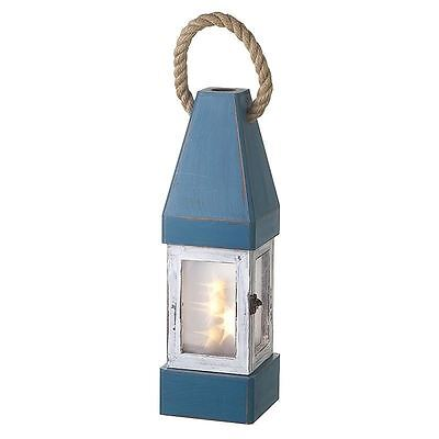 Heaven Sends Distressed Look LED Lantern Nautical Theme