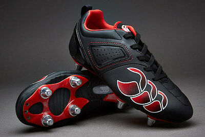 Canterbury Boys Phoenix Club 6 Stud Rugby Boots Size 13 1 2 3 4 5 5.5 Rrp £35