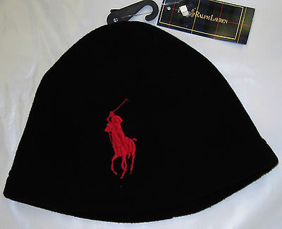 Boys' Black Cap from Ralph Lauren Polo One Size (8/20)