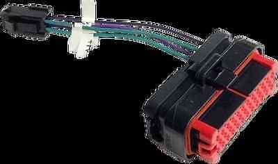 HOGTUNES REAR SPEAKER Plug Harness 2006-2013 Street Electra and Road Glide