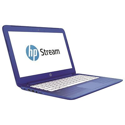 "HP Stream 13-c100na Laptop 13.3"" Intel Celeron 2GB RAM 32GB SSD HDMI Windows 10"
