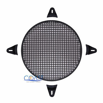 "12"" SubWoofer Metal Mesh Cover Waffle Speaker Grill Protect Guard DJ Car Audio"