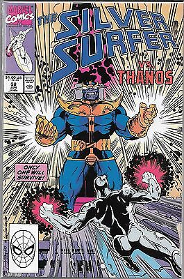 The Silver Surfer #38 (Vf) Thanos