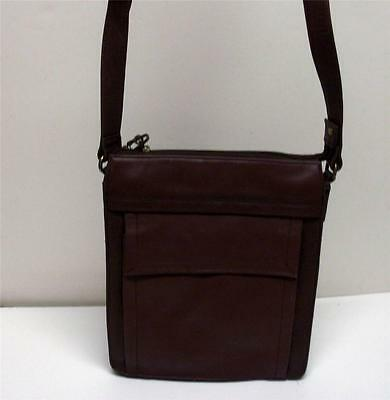 Fossil Dark Brown Genuine High Quality Leather Shoulder Bag #75082