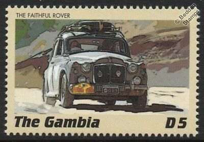 ROVER P4 (Model 90) Classic Marathon Rally Car Stamp