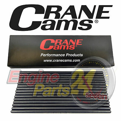 "Pushrods Chrome Moly 8.650"" Long Pro Series 1 Piece .080"" Wall Crane 95653-16"