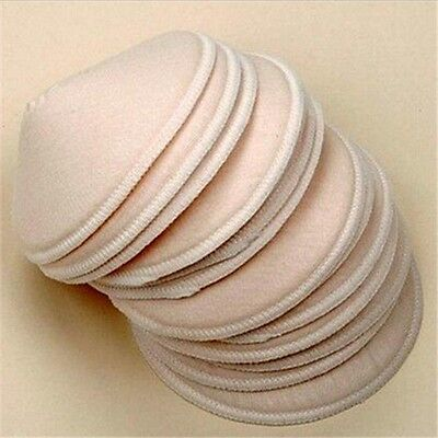 8Pack Feeding Washable Reusable Breast Nursing Pads Soft Absorbent Breastfeeding