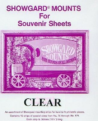 Mounts Showgard, assortment 76 to 171(15 Clear)(00688C)3-7-14