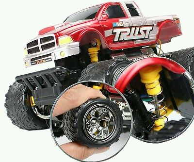 Monster Truck Off Road Bigfoot Rechargeable Radio Remote Control Car 1:18 15Km/h