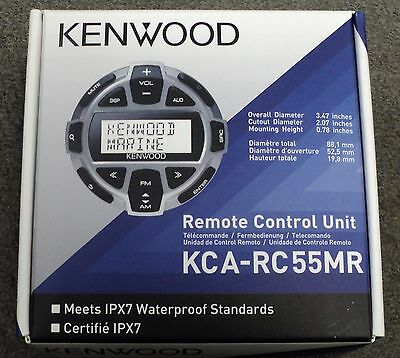 NEW Kenwood KCA-RC55MR Marine Wired Remote Control for Select Kenwood Headunits