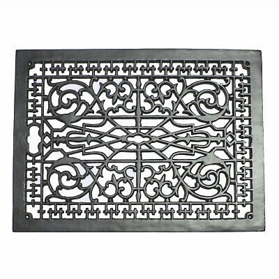Vintage Old Style Rectangular Floor Grate Vent Replica BIG Huge Solid Cast Iron