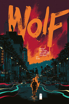 """Wolf (2015) #'s 1, 2, 3, 4 Complete VF/NM """"Blood and Magic"""" Set Image Comics"""