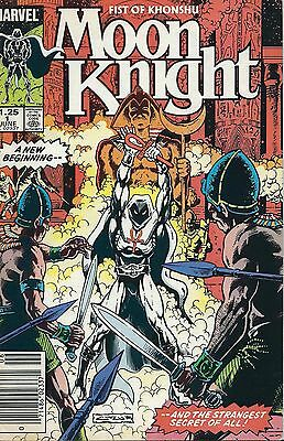 "Moon Knight ""fist Of Khonshu"" #1 (1985) Marvel Comics V/f+"