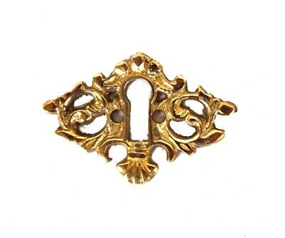Beautiful Brass Key Hole Cabinet and Door Hardware Escutcheon
