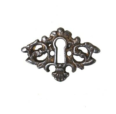 Beautiful brass key hole cover cabinet and door hardware DARKENED