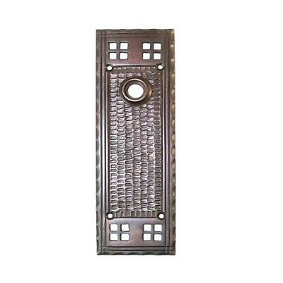 Bungalow Mission Door Back Plate Arts & Crafts Oil Rubbed Bronze Old Style