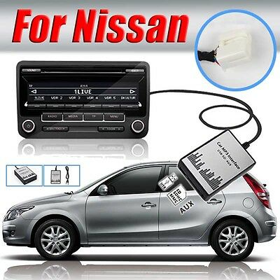 1set Car USB SD AUX MP3 Adapter Audio Interface CD Changer for Nissan Qashqai