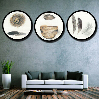 Newly Photo Frame Stylish Round Hanging Picture Holder Best Bedroom Ornaments