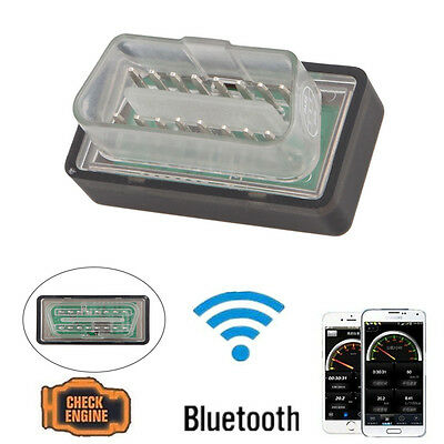 Super Mini OBD2 OBDII iPhone iPad Android Bluetooth Adapter Auto Scanner Torque