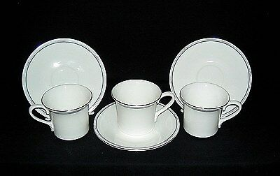 Set of 3 ROYAL DOULTON 1986 Simplicity #H5112 Cups and Saucers