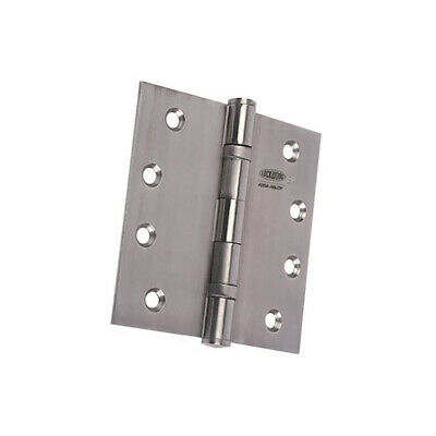 Lockwood LW10075BBSSS Door Butt Hinge 100x75x2.5mm Ball Bearing Stainless Steel