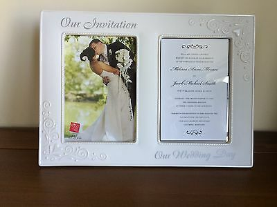 RUSS Wedding Day Invitation Double Photo Frame/Gift Large