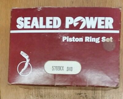 GMC V6 432 V 6 V-6 Piston Ring Set  New  .040 Oversize