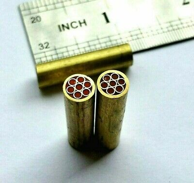 TITANs 6.0 mm Mosaic Pins for Handle Making Knife Scales Sticks Bush craft MP4
