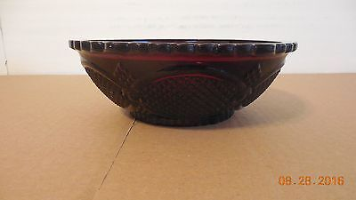 Avon Cape Cod Ruby Red Serving Bowl