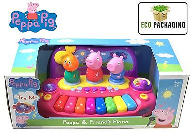 New Peppa Pig Piano with Characters