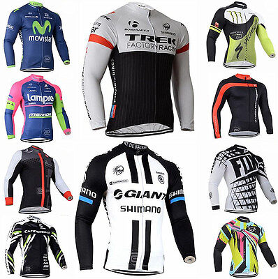 2016style Cycling Jersey Comfortable Bike/Bicycle Outdoor top jersey Long Sleeve