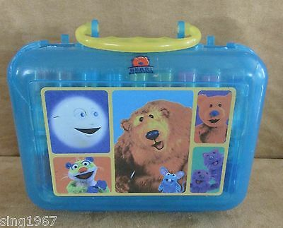 Bear in the Big Blue House markers and carry case vintage 1990s Disney World