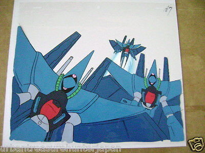 Mobile Suit Z Zeta Gundam  Rx-139 Hambrabi Team Anime Production Cel