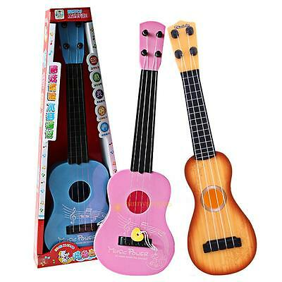 4 Strings Guitar Musical Instrument Development Toy Xmas Gift For Kids Child