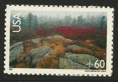 US Scott #C138, Single 2001 Air Mail 60c VF MNH