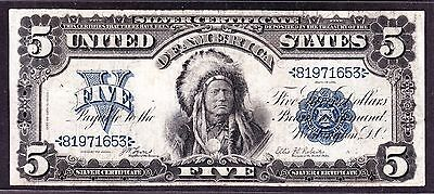 US 1899 $5 Chief Silver Certificate FR 271 VF (-653)