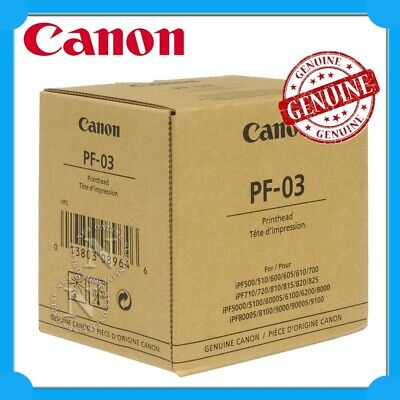 Canon Genuine PF-03 Print Head for iPF-510/iPF-710/iPF-5100/iPF-6100/iPF-8000
