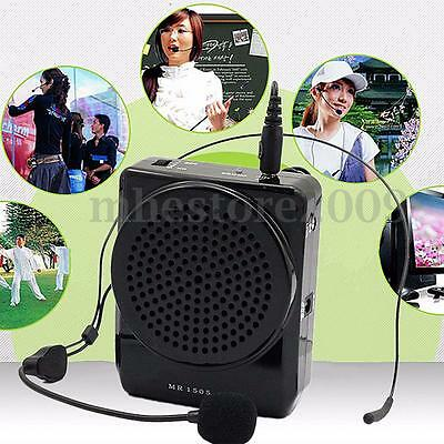 New Portable AKER MR1505 Microphone Waistband Voice Booster Amplifier Speaker