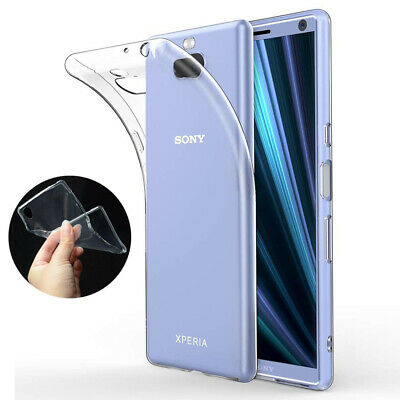 Ultra Thin Shockproof Clear TPU Gel Case Cover For Sony Experia Mobile Phones
