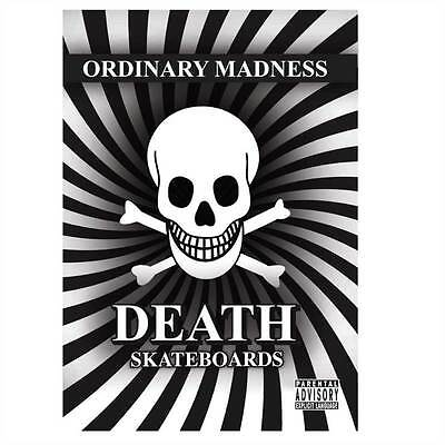 Death Skateboards Ordinary Madness Skateboard Dvd New Sk8