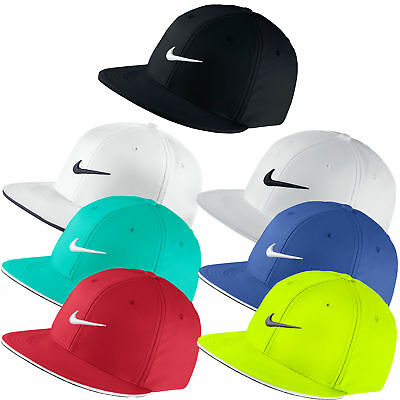 NEW NIKE GOLF True Tour Flat Bill Fitted Cap Hat - Pick Color ... 5828c611b5e